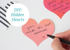 [Free Printable] DIY Hidden Hearts