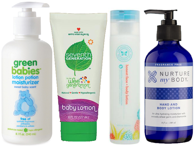 green-baby-lotions