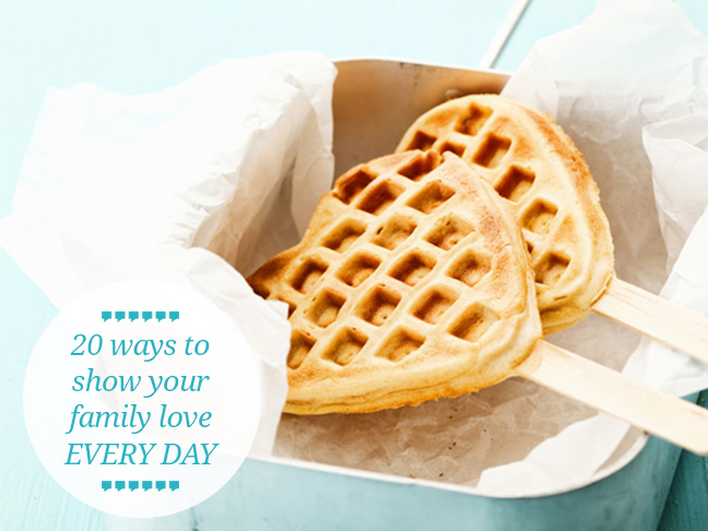 show-your-family-love-every-day