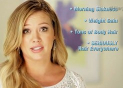 [VIDEO] Hilary Duff Was a Total Yeti During Pregnancy: Poking Fun at Pregnancy Hair Growth