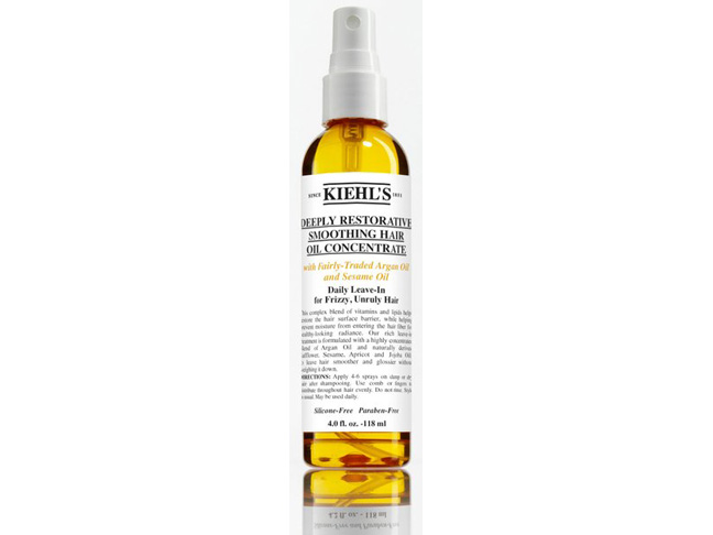Kiehl's Deeply Restorative Smoothing Hair Oil