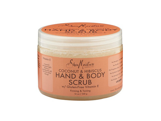 SheaMoisture's Coconut & Hibiscus Hand & Body Scrub