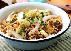 Meatless Monday: Roasted Cauliflower Pasta Recipe