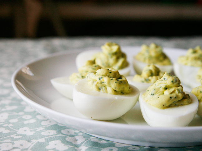 Herbed Deviled Eggs-2