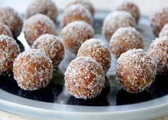 No Bake Almond Peanut Butter Balls Recipe for Passover
