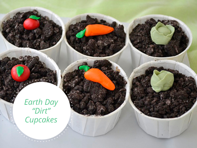 Earth Day Dirt Cupcakes Recipe