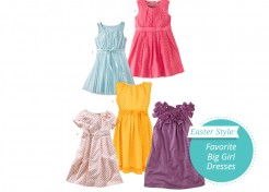 Favorite Five Big Girl Easter Dresses