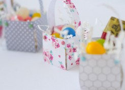 [FREE PRINTABLES] Mini Spring Baskets