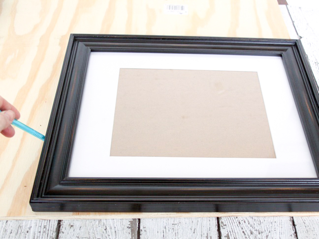 picture-frame-serving-tray-step-1