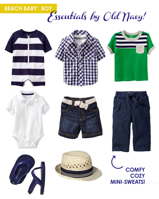 Summer Style for Beach Babies from Old Navy