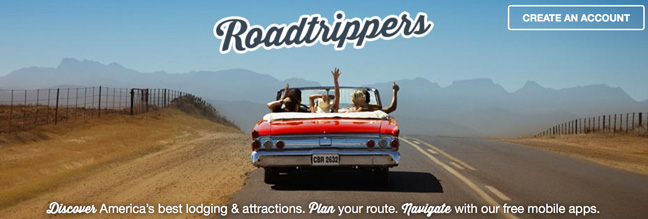 Roadtrippers-app