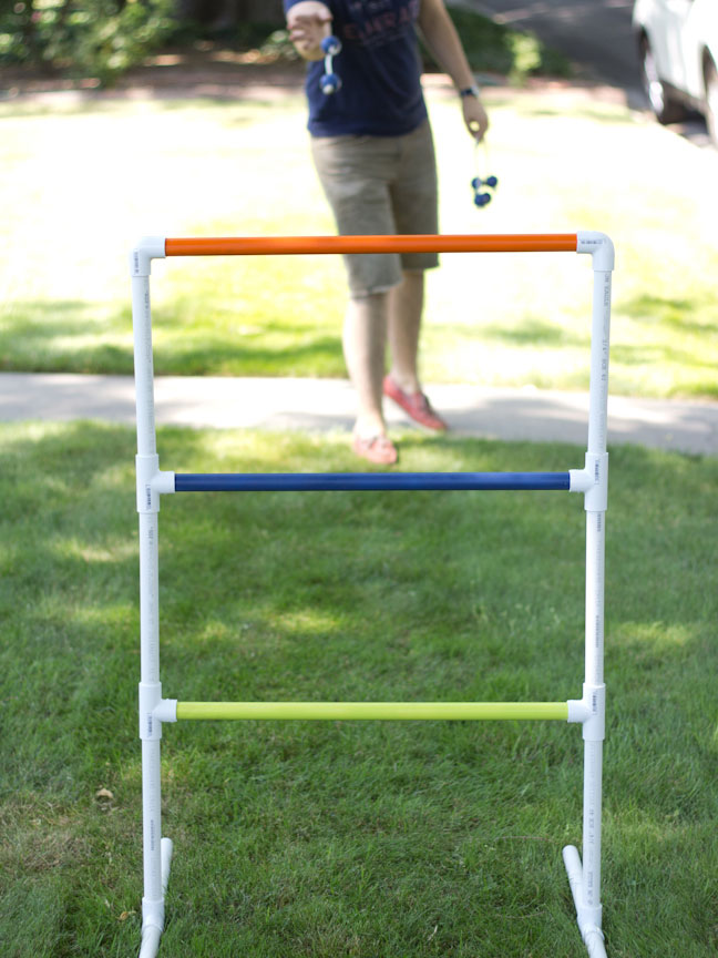 Diy pvc pipe ladder golf game more diy summer crafts solutioingenieria Gallery