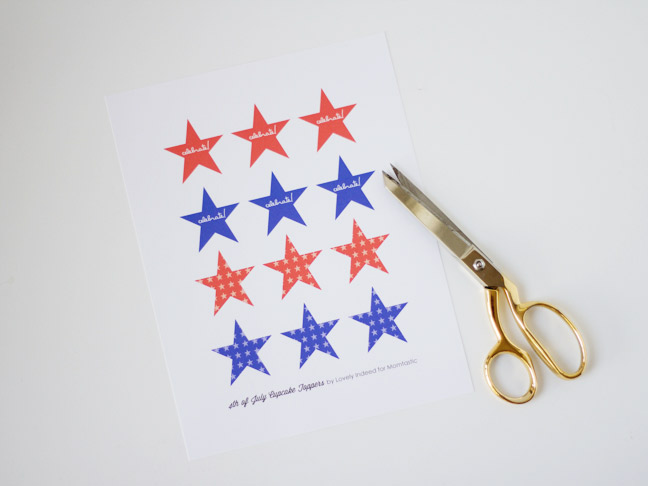 Step 2 Cut Out Each Star On The Template