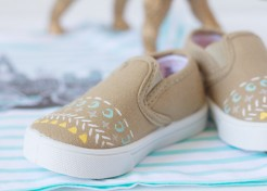 DIY Patterned Shoes for Babies & Kids