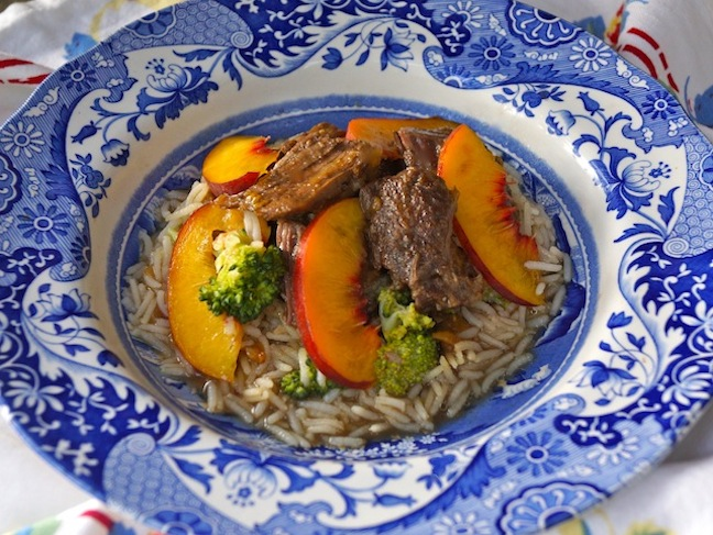 Peach Braised Short Ribs for 3 meals with 3 Side Options - Momtastic
