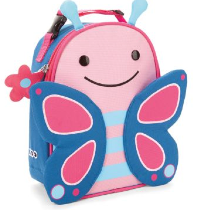 Butterfly backpack lunchbox