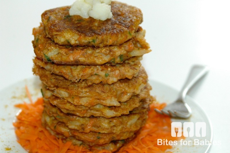 cauliflower carrot fritters