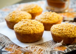 Maple Pumpkin Corn Muffins Recipe