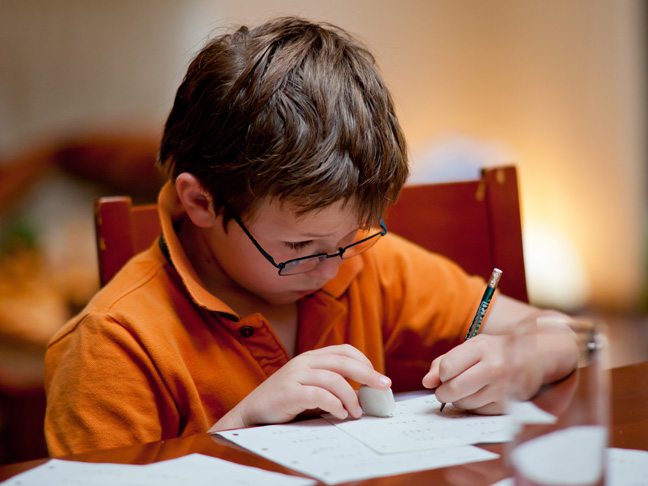 Why I Refuse to Help My Son with His Homework