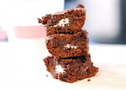 Quick Trick: Peppermint Patty Stuffed Brownies Recipe