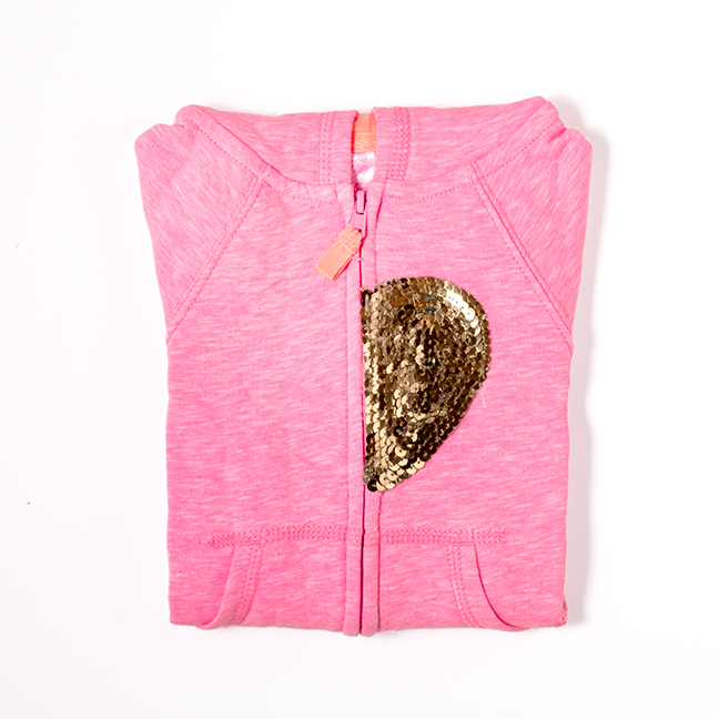 DIY Sequin Heart Hoodie by Splendid Supply Co. for Momtastic
