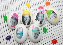 How To Put Your Family's Faces on Easter Eggs