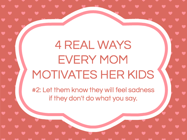 4 Real Ways Every Mom Motivates Her Kids by Kim Bongiorno on Momtastic