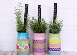 3 DIY Mason Jar Planter Ideas