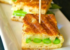 Spring Asparagus Grilled Cheese Bites Recipe