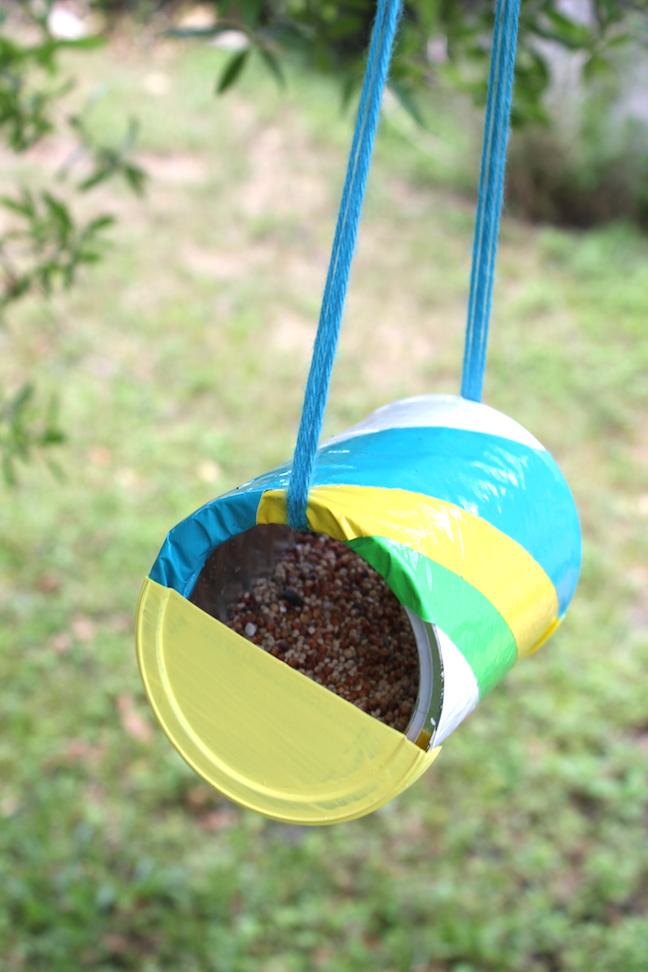 How To Make A Recycled Can Bird Feeder Plus 20 Recycled