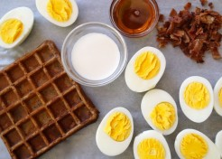 Kids in the Kitchen: Breakfast Deviled Eggs Recipe