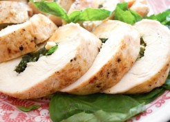 Kids in the Kitchen: Chicken Roulade with Basil & Cheddar Recipe