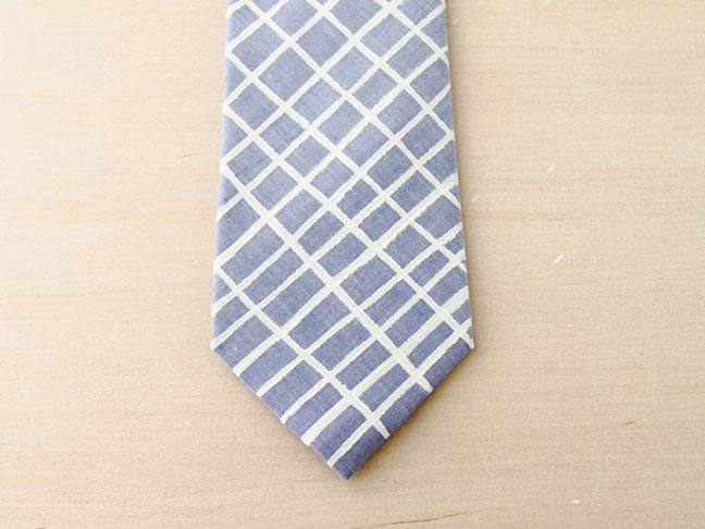 How To Hand Paint a Tie // Step 4
