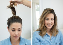 (PHOTOS) How To Get Effortless Waves Without Heat Styling
