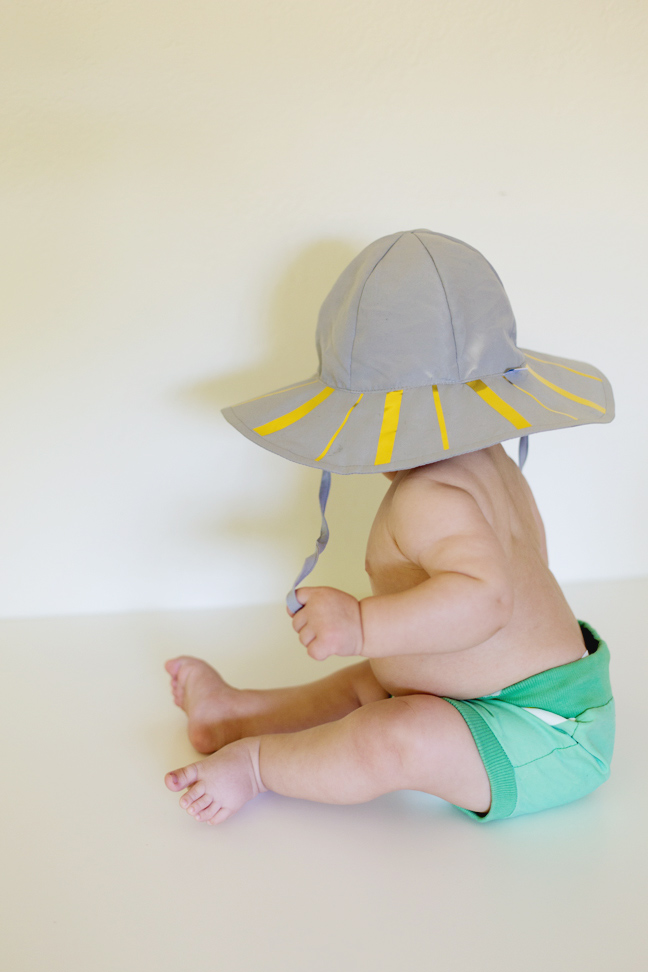 809a63b92ff0 DIY Baby Sun Hat  Just Add the Golden Touch