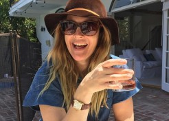 How Celebrity Moms Are Enjoying Summer (Without the Kids!)