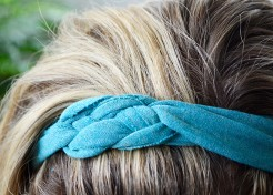How To Make Matching T-Shirt Headbands For You & Your Daughter