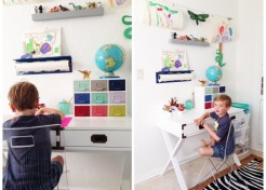 How to Create a Small-Space Art Nook for Kids