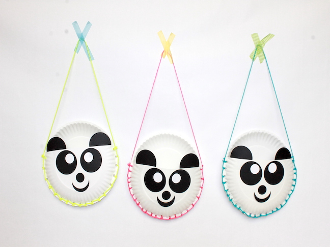 panda pencil pouches