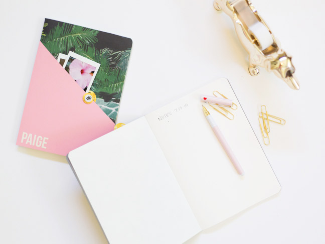 diy-personalized-composition-notebook-pink-gold-palms2