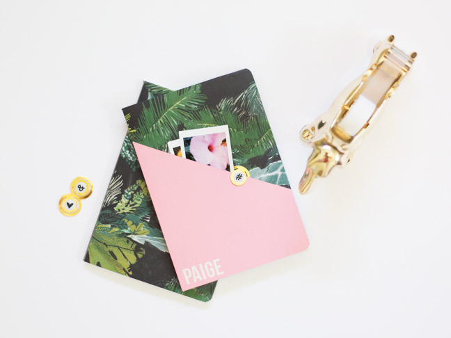 diy-personalized-composition-notebook-pink-gold-palms4