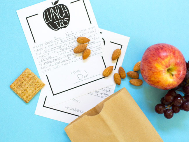 school-lunch-mad-libs-apple-almonds-paper-bag