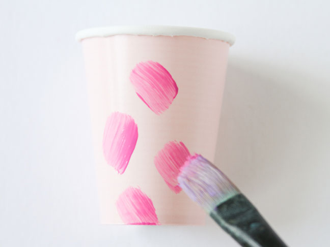 Step 2: Paint Cups