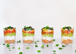 Mini Seven-Layer Dips Recipe