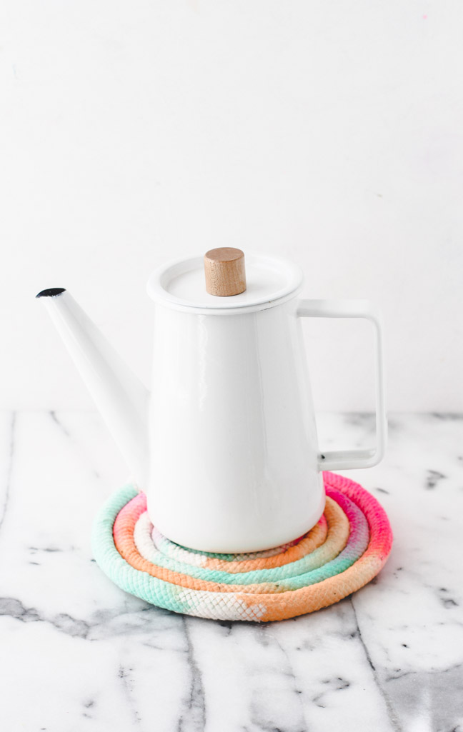 Colorful DIY Trivet Project