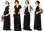 5 Ways to Style One Versatile Dress Throughout Your Pregnancy