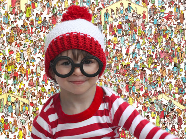 Where's Waldo Halloween Costume for Kids