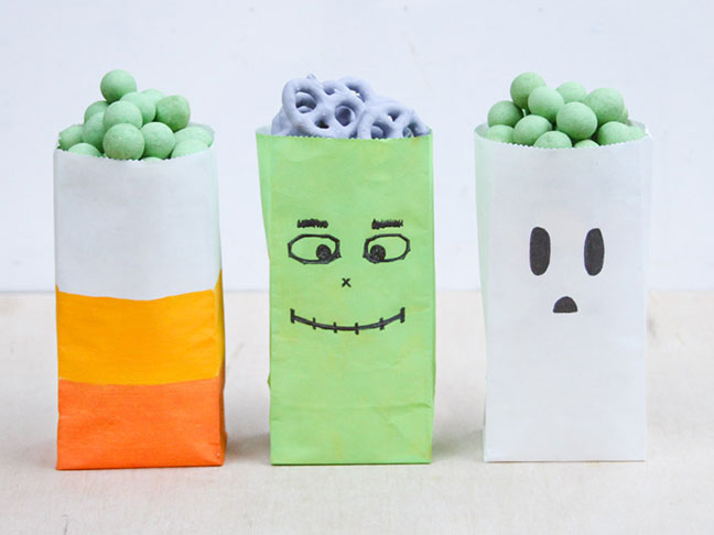Halloween Party Favour and Candy Bags
