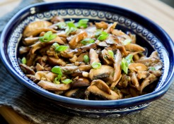 Meatless Monday: Soy Ginger Mushrooms Recipe