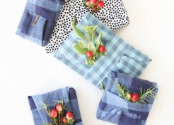 How To Wrap Gifts Using Recycled Old Shirts